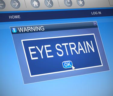 Bissell Eye Care - eye strain