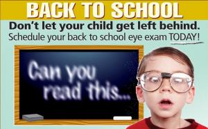 kids eye exam, Bissell Eye Care